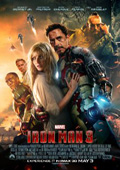 Iron Man 3 dvd cover