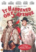 It Happened on 5th Avenue dvd cover