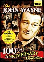 John Wayne 100th Anniversary Collection dvd cover