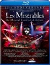 Les Miserables in Concert dvd cover