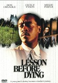 A Lesson Before Dying dvd cover