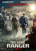The Lone Ranger dvd cover