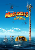 Madagascar 3: Europe's Most Wanted dvd cover
