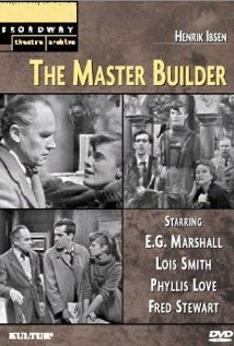 The Master Builder (1958) dvd cover