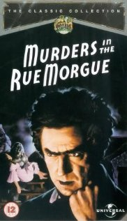 Murders in the Rue Morgue dvd cover