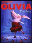 Olivia Takes Ballet dvd cover