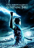 Percy Jackson & the Olympians: The Lightning Thief dvd cover
