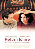 Return to Me dvd cover