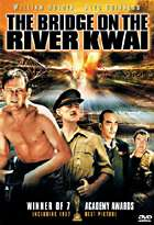 Bridge on the River Kwai dvd cover