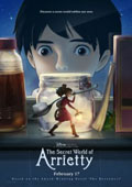 The Secret World of Arrietty dvd cover