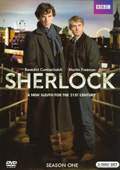 Sherlock: Season 1 dvd cover