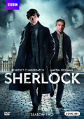 Sherlock: Season 2 dvd cover