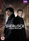 Sherlock: Season 3 dvd cover
