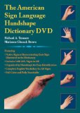 The American Sign Language Handshape Dictionary DVD dvd cover