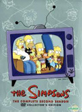 The Simpsons: The Complete Second Season dvd cover