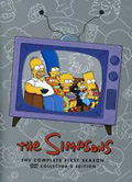 The Simpsons: The Complete First Season dvd cover