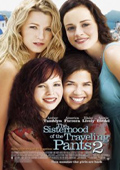 The Sisterhood of the Traveling Pants 2 dvd cover
