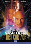 Star Trek: First Contact dvd cover