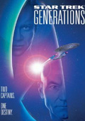 Star Trek: Generations dvd cover