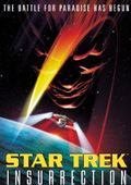 Star Trek: Insurrection dvd cover