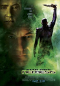 Star Trek: Nemesis dvd cover