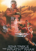 Star Trek II: The Wrath of Khan dvd cover