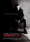 Taken 2 dvd cover