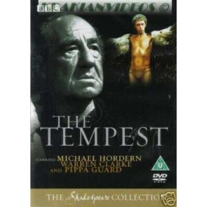 The Tempest (2001) dvd cover
