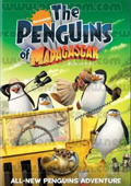 Madagascar: The Penguins of Madagascar dvd cover
