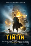 The Adventures of Tintin dvd cover