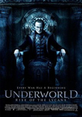 Underworld: Rise of the Lycans dvd cover