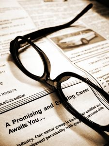 Eyeglasses and Paperwork