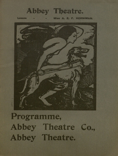 Abbey Theatre Program