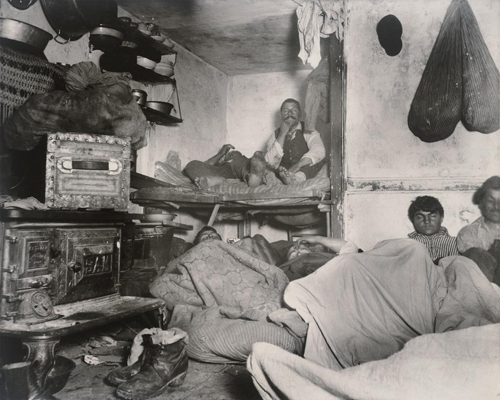 Lodgers by Jacob Riis