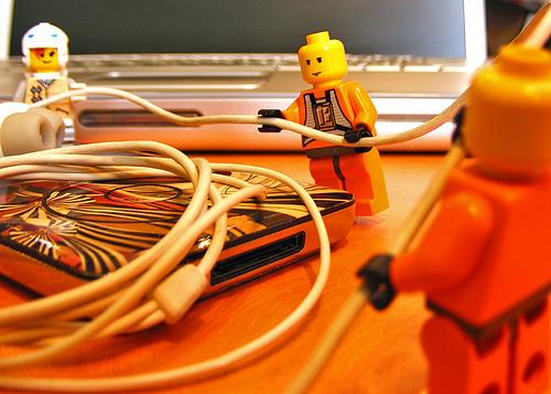 Lego media