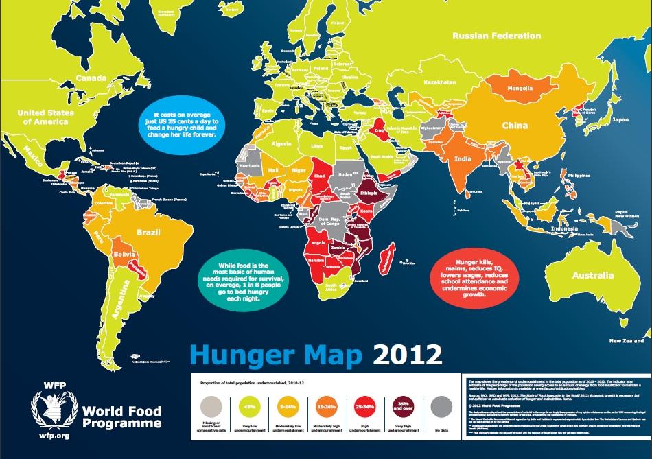 Hunger Map 2012