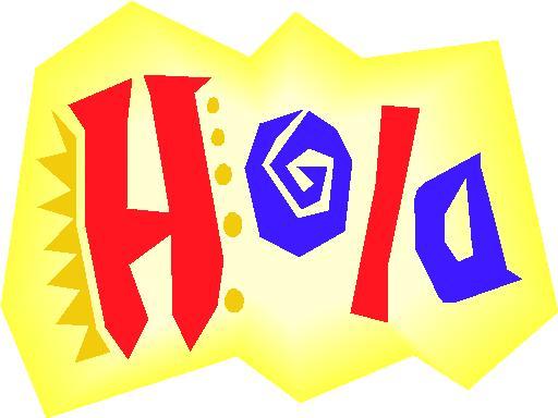 Spanish greeting - Hola
