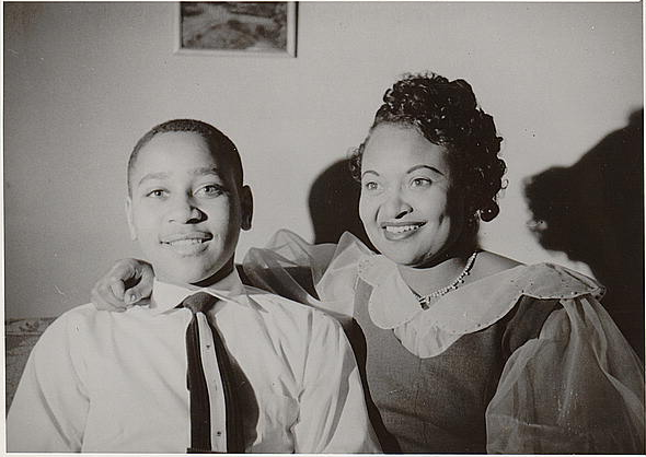 Mamie Bradley and Emmett Till
