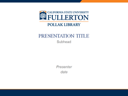PowerPoint Template 3: Title Slide