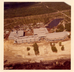 Aerial view of UNF campus construction, 1972