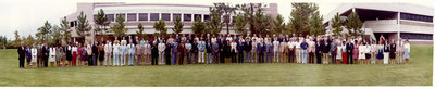Photograph: Charter Faculty and Staff, Tenth Anniversary Celebration, Employee Recognition Ceremony, September 30, 1982