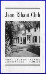 Brochure: Jean Ribaut Club, Fort George Island, Jacksonville, Florida