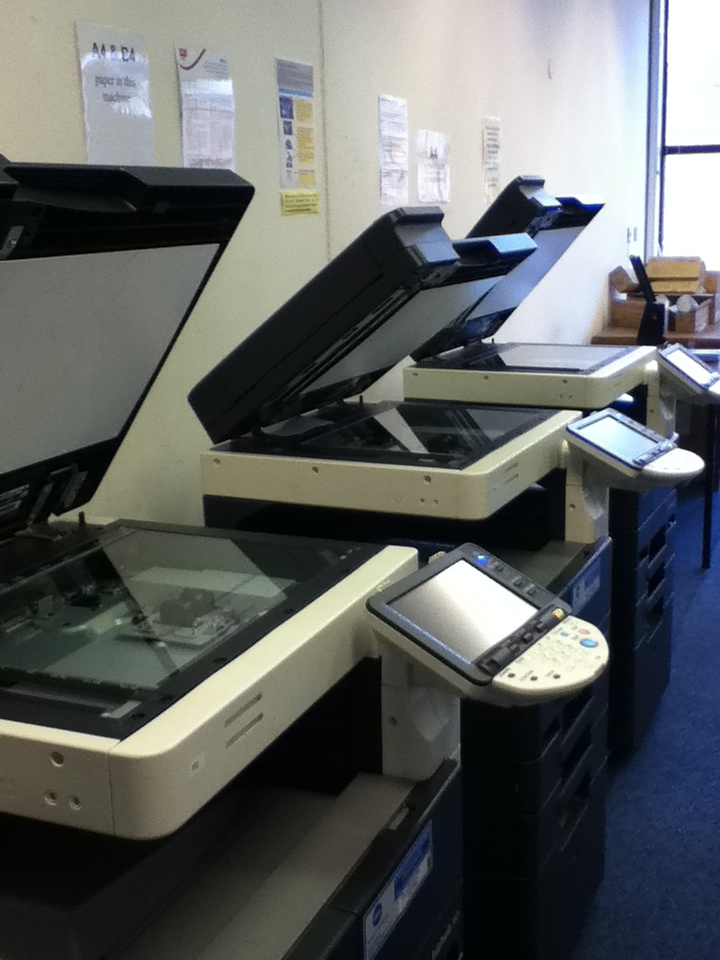 Picture of IALS copiers
