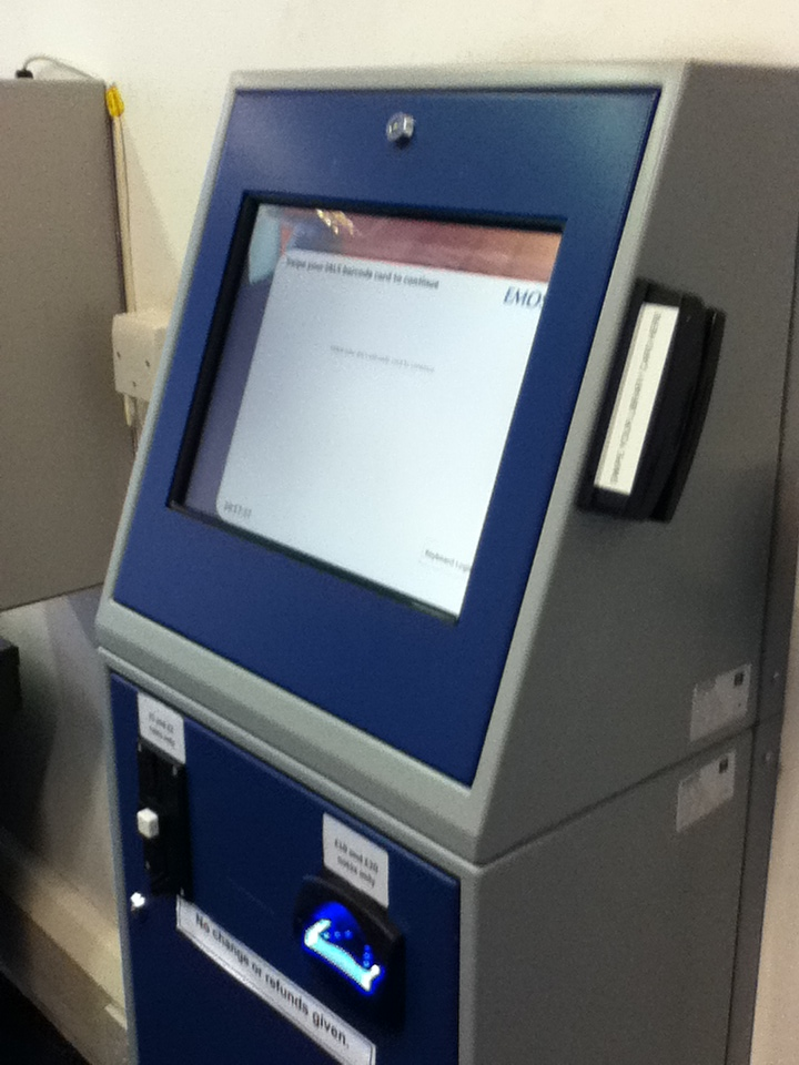 Picture of IALS kiosk