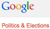 Google elections site