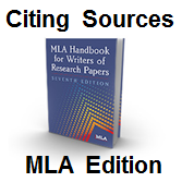 Citing Sources - MLA Edition