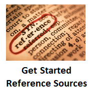 Get Started Reference Sources