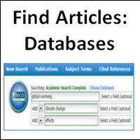 Find Articles: Databases