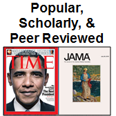 Popular, Scholarly, & Peer Reviewed