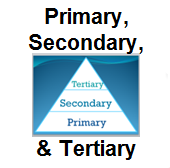 Primary, Secondary, and Tertiary
